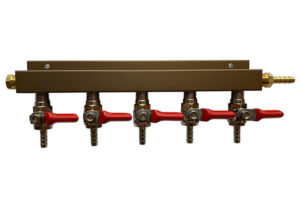 Made to Order CO2 Manifold - 5 Way (Choose from 6 configurations)