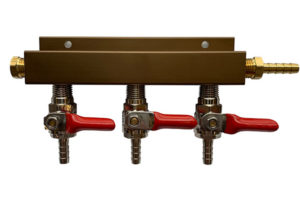 Made to Order CO2 Manifold - 3 Way (Choose from 6 configurations)
