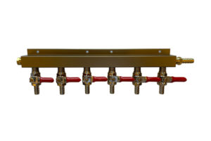 Made to Order CO2 Manifold - 6 Way (Choose from 6 configurations)